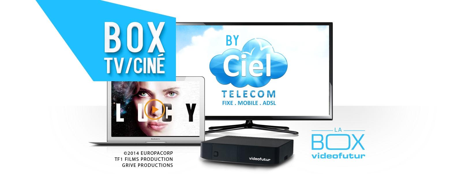 ciel telecom box tv cin. Black Bedroom Furniture Sets. Home Design Ideas